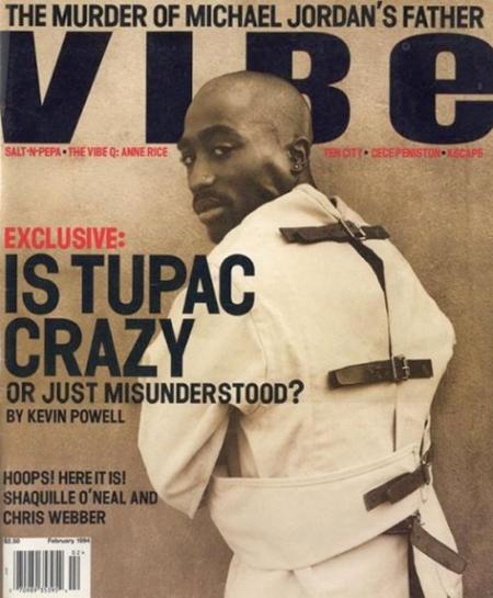 2Pac auf dem Cover der VIBE, 1994