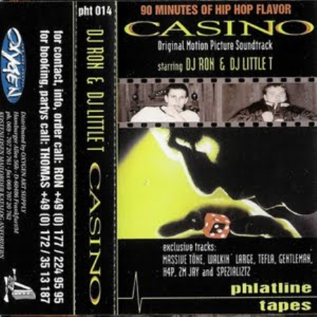 DJ Ron & DJ Little T- Casino Mixtape