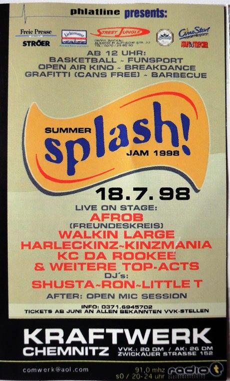 Splash 1998