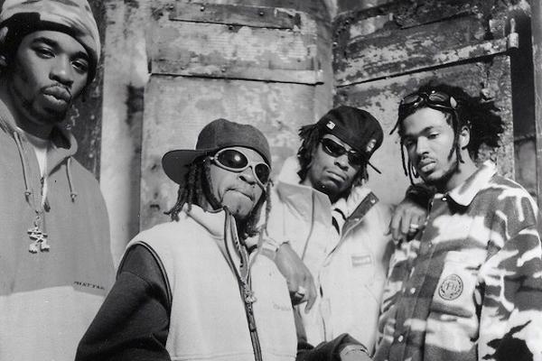 Lost Boyz: Freaky Tah, Spigg Nice, Mr. Cheeks, Pretty Lou (v.l.n.r.)