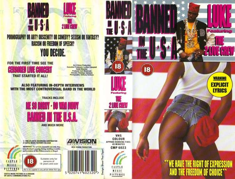 Luke ft. The 2 Live Crew - Banned In The USA