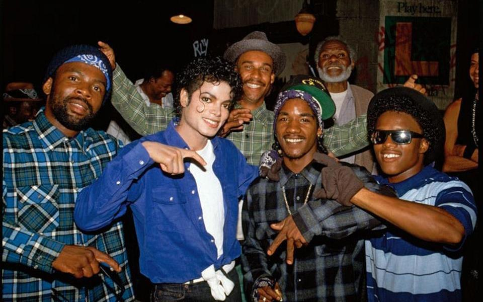 Michael Jackson - Crips - The Way You Make Me Feel Video Set