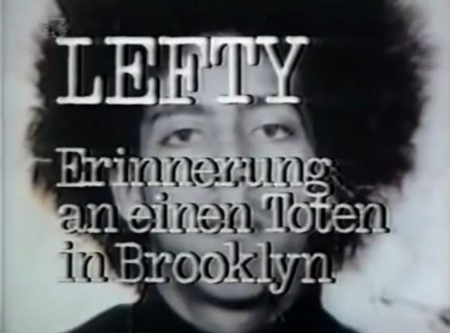 Lefty - Erinnerung an einen Toten in Brooklyn