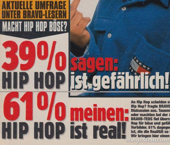 vongestern.com - Wie gefährlich ist Hip Hop