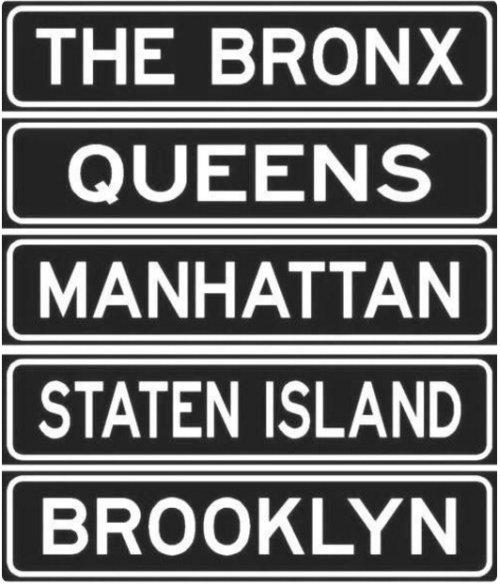NYC 5 Boros