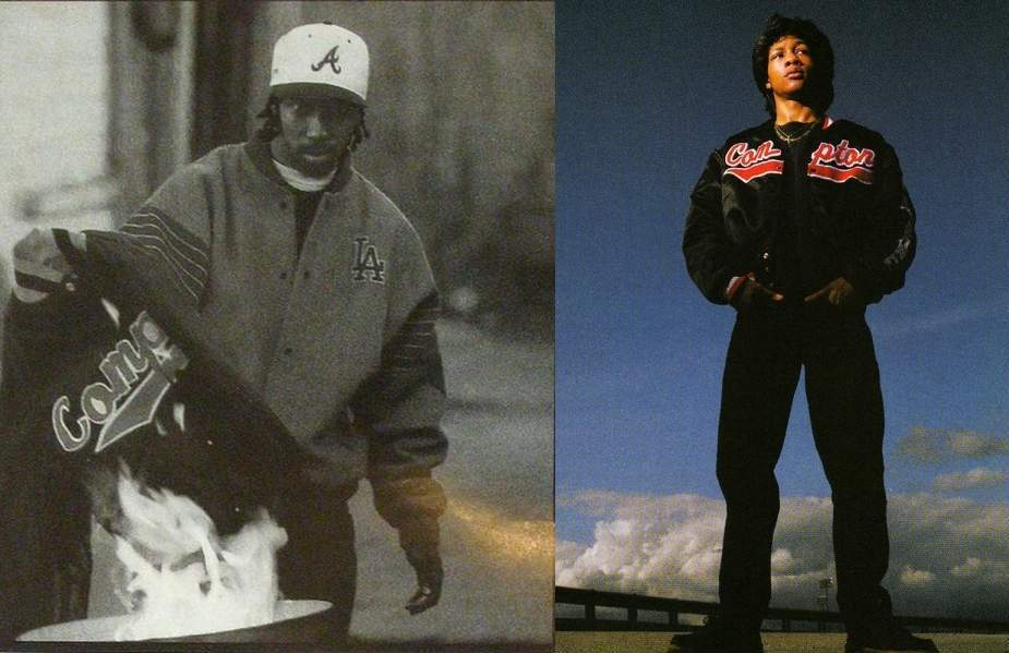 MC Eiht vs DJ Quik - Burning Jacket 925
