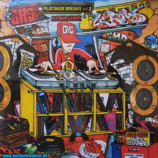 DJ Bad Leroy - Platinum Breaks Vol. 2 600