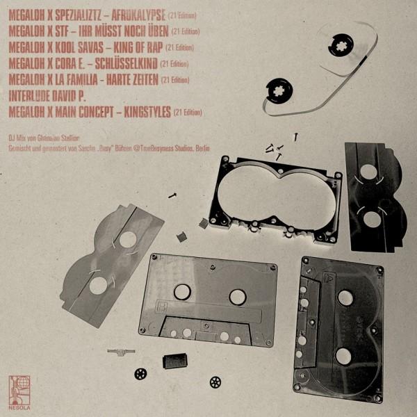 Megaloh - Auf Ewig III Tracklist Back 600
